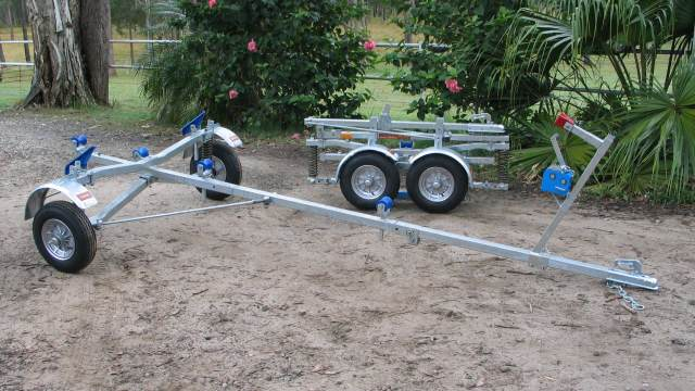 Folding Boat Trailers All Metal Fabrications